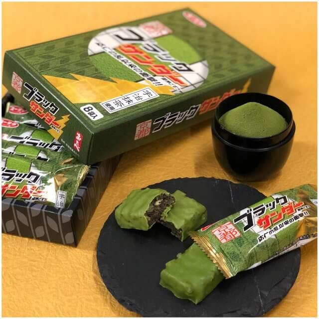 京都雷神巧克力 抹茶口味