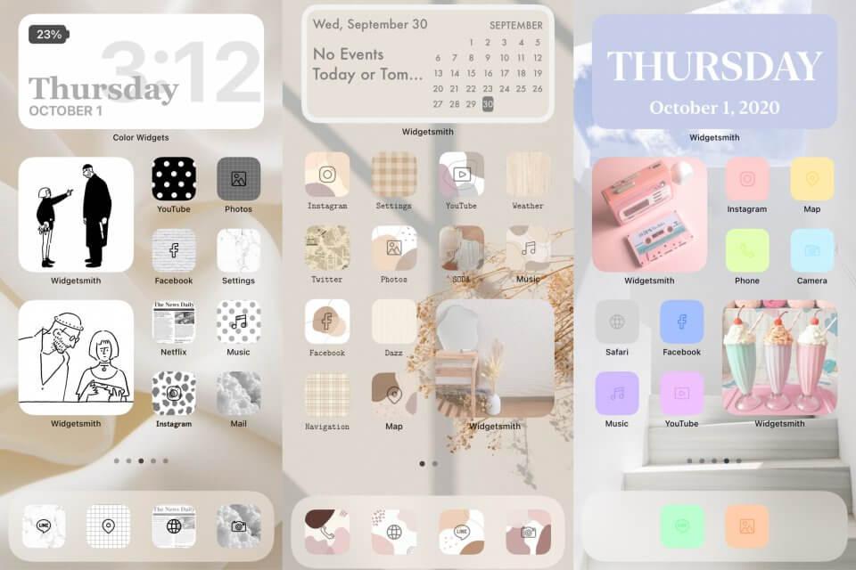 iOS14個人化桌布 推薦app